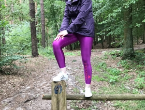Katy in Stellasport Disco Tights im Wald