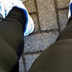 Outing in meiner Familie mit Nike Swift Tights draussen