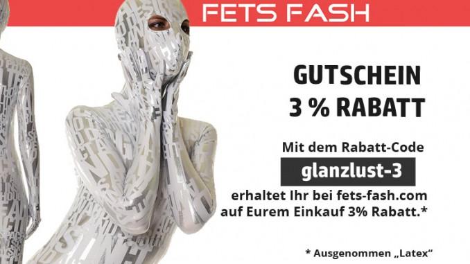 Gutschein 3% Rabatt bei Fets-Fash