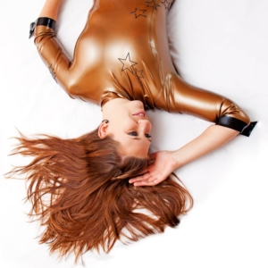 Madame Mi Latex Golden girl