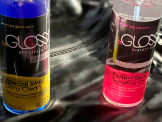begloss Flaschen Special Wash und Perfect Shine